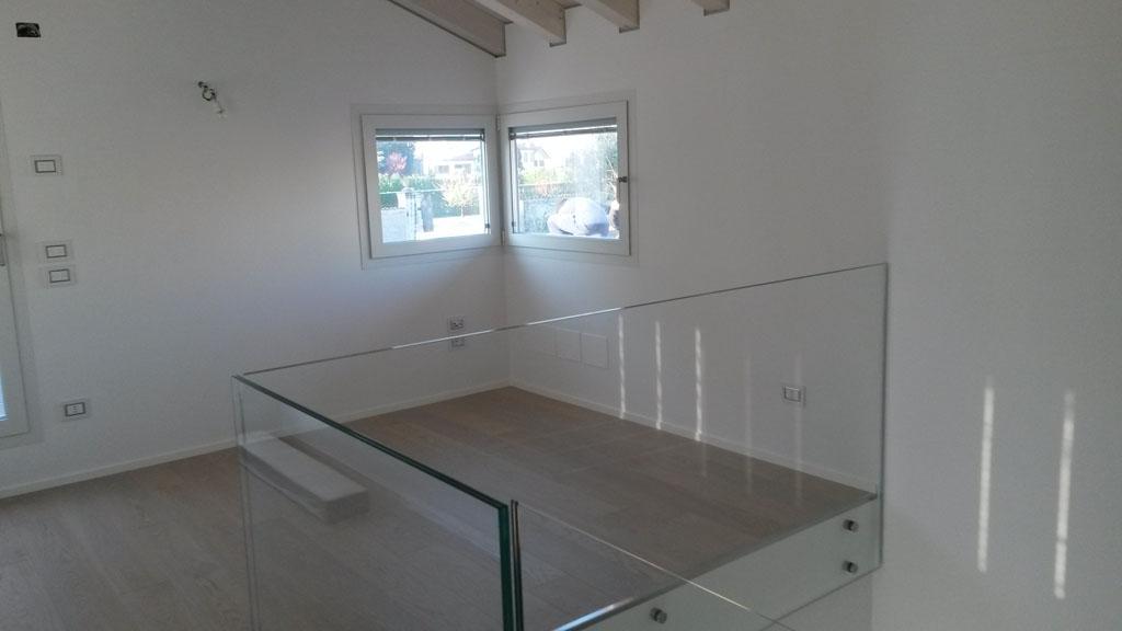 Ringhiere in vetro per interni parapetti in vetro e acciaio inox with ringhiere in vetro per - Parapetti in vetro per scale ...