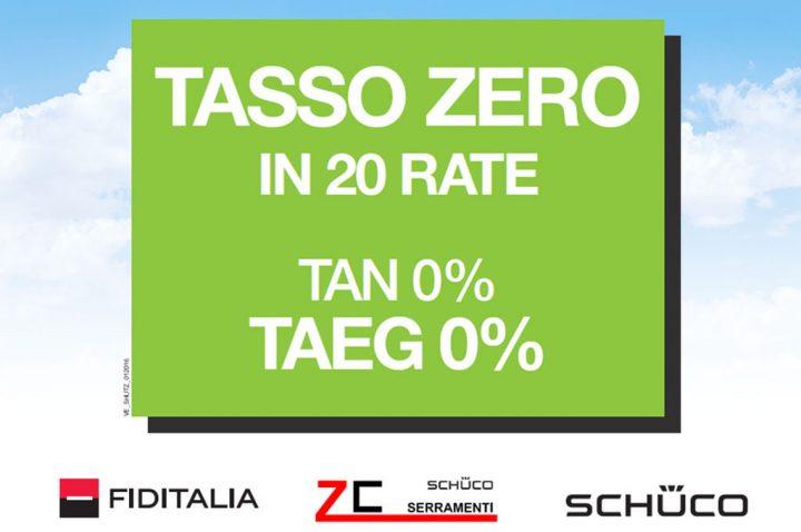 Paga in 20 comode rate a tasso zero