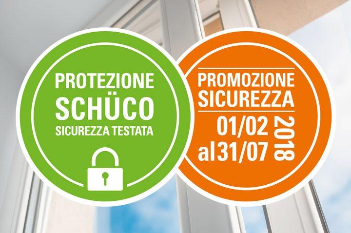 Promozione Schüco fino al 31 luglio 2018